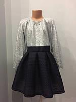 Подростковое платье с юбкой из неопрена для девочки