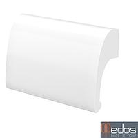 Ручка-ракушка Medos DE LUXE белая (Польша)