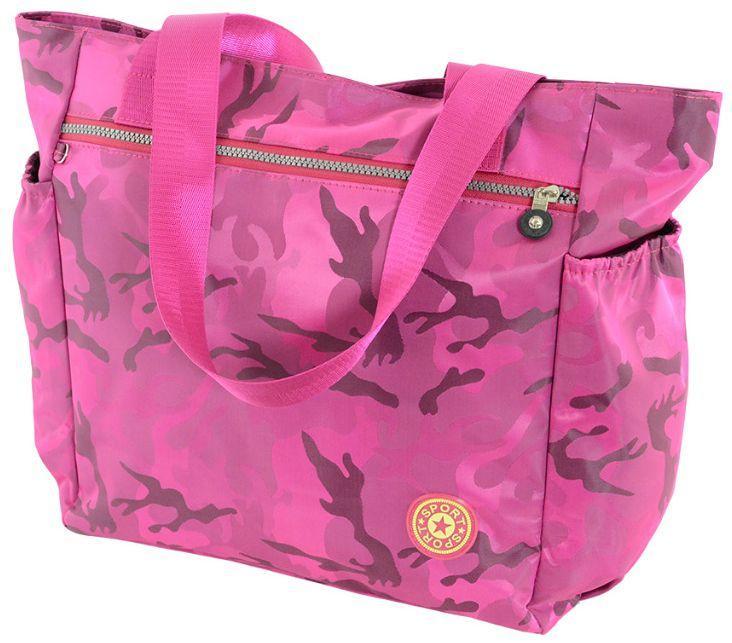 1caeec7a82d3 Женская сумка-шоппер розового цвета Traum 7214-41 - SUPERSUMKA интернет  магазин в Киеве