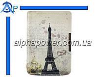 Обложка (чехол) для электронной книги PocketBook 614/615/624/625/626/Touch Lux 3 с графикой Париж