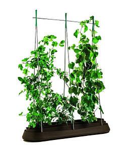 Грядка для растений G-Row, коричневая