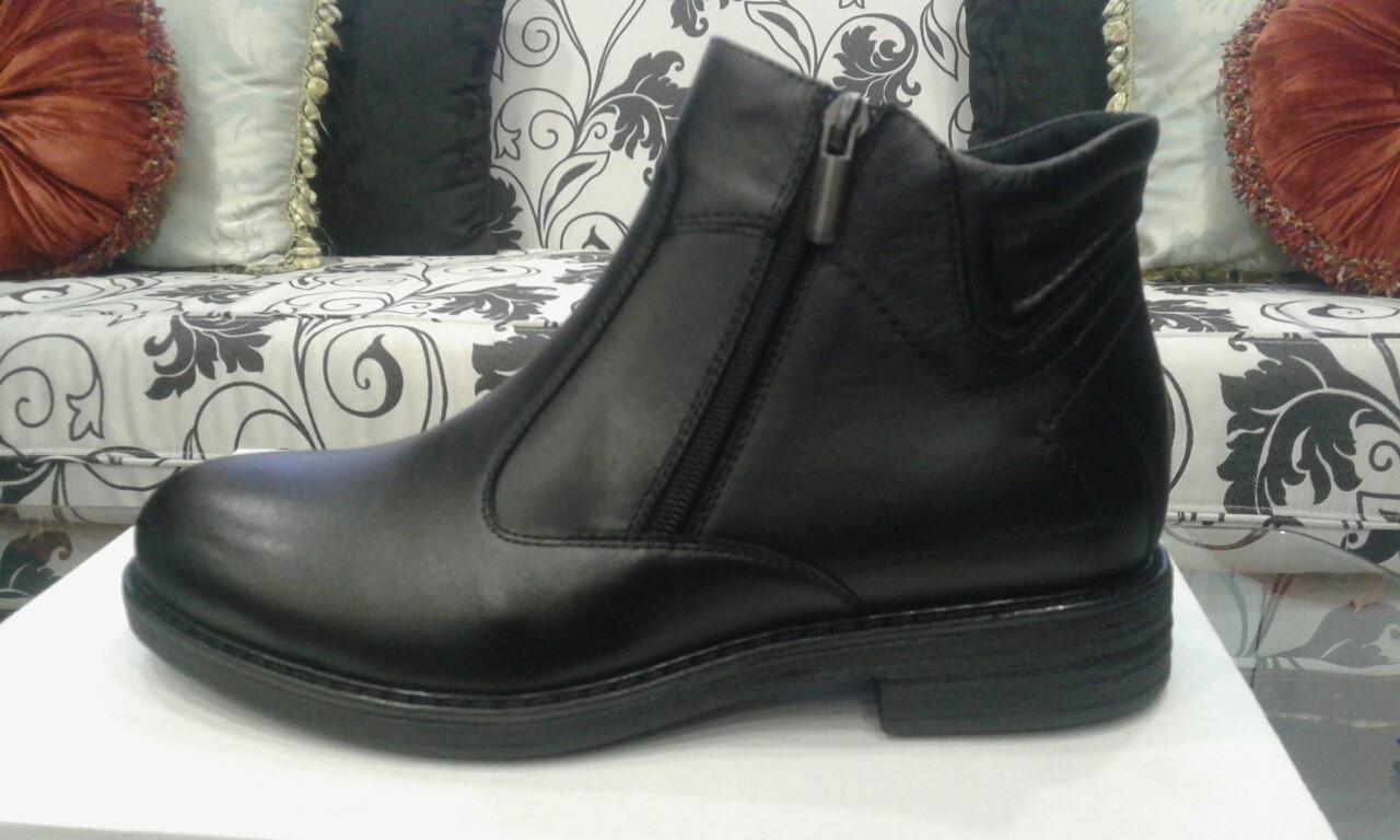 Ботинки  Oscar Fur S-58 Черный