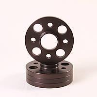 Алюминиевые колесные проставки  4х98,  Dia = 58.6, 15 мм. (ВАЗ)