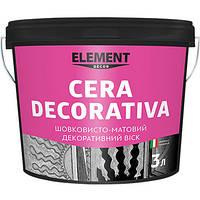 Шовковисто-матовий декоративний віск Element Decor Cera Decorativa