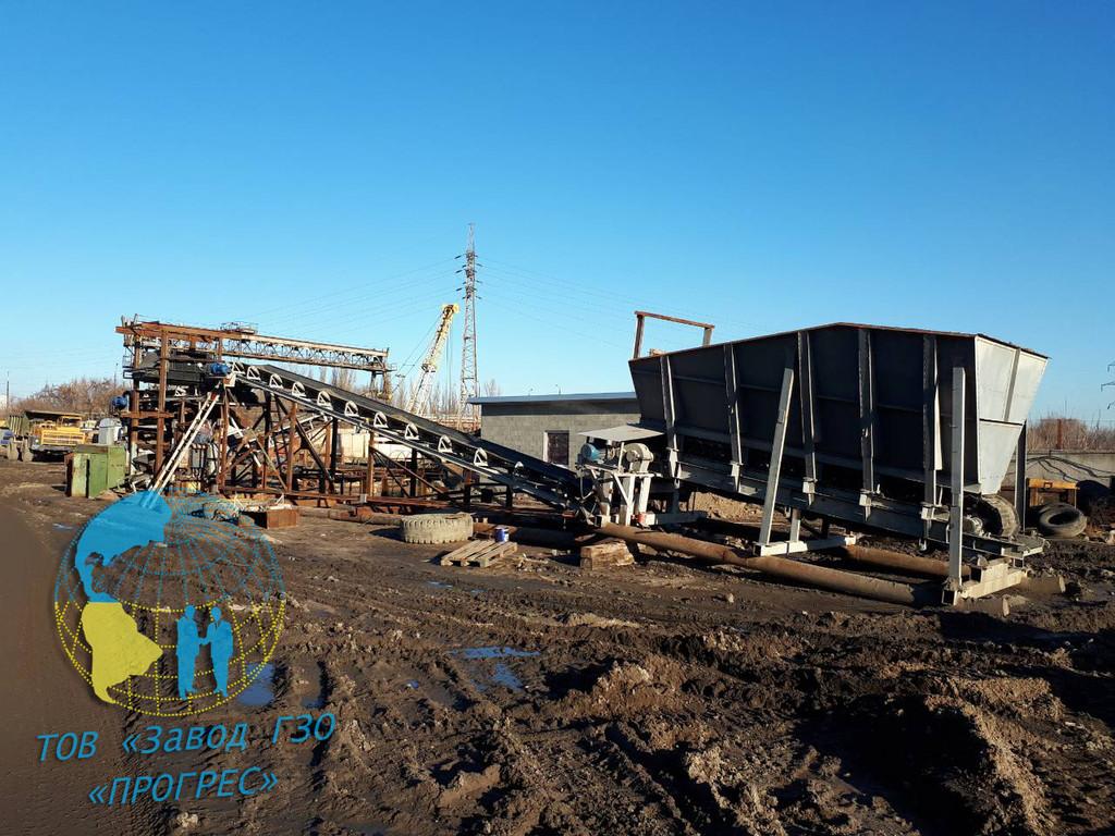 Спроектирован и поставлен комплекс по переработке шлаковых отвалов
