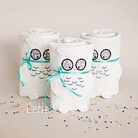 "Флисовый плед ""White Owl"", фото 1"