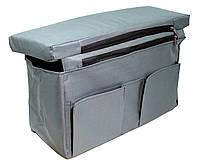 Сиденье мягкое с сумкой для лодки ПВХ (комплект)