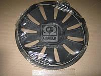 Колпак колесный R14 REX черный 1шт.  (арт. DK-R14RB)