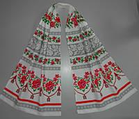 Український рушник , льон 45х155 см