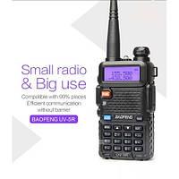 Радиостанция рация Baofeng UV-5R Black. Одна из самых популярных частотных радиостанций на рынке. Код: КГ2791