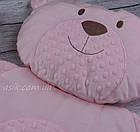 Матрац і подушка в коляску, колір - рожевий, фото 4