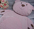 Матрац і подушка в коляску, колір - рожевий, фото 6