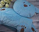 Матрас и подушка в коляску, цвет- голубой, фото 6