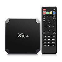 Smart Android TV Box X96 Mini 1/8Gb - мощный медиаплеер для ТВ, 4 ядра, Wi-FI,
