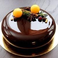 Дзеркальна глазур Міраль чорний шоколад Master Martini, фото 2