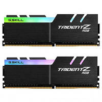 Модуль памяти для компьютера DDR4 32GB (2x16GB) 3000 MHz Trident Z RGB G.Skill (F4-3000C14D-32GTZR)