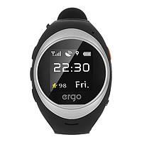 Смарт часы Ergo Advanced A010 з GPS трекером Gray