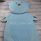 Матрас и подушка в коляску, цвет- голубой, фото 3