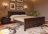 Кровать деревянная Майя Нью из натурального дерева двуспальная, фото 1