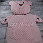 Матрац і подушка в коляску, колір - рожевий, фото 3