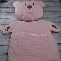 Матрас и подушка в коляску, цвет- розовый