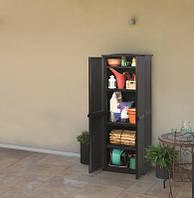 Ящик для хранения RATTAN STYLE - TALL SHED Compact Garden  430 л