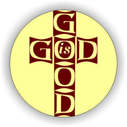 Магніт круглий №48 God is good, фото 2