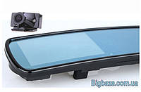 """Видеорегистратор в зеркале DV700, 2 камеры. Экран 4,3"""". Код:28500146, фото 1"""