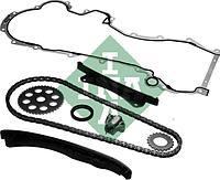 Комплект цепи привода распредвала FIAT/OPEL 1.3JTD 188A8/188A9/199B1/A13DTE/Z13DTH 2003- (производство INA), AGHZX