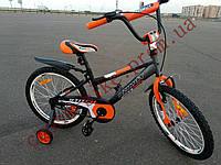 Детский двухколесный велосипед Азимут Стич  Stitch A 16 дюймов