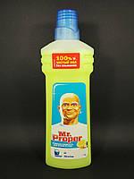 Mr Proper - Моющая жидкость для полов и стен Чистота и блеск Лимон 750мл