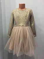 Детское платье с блеском, фото 1