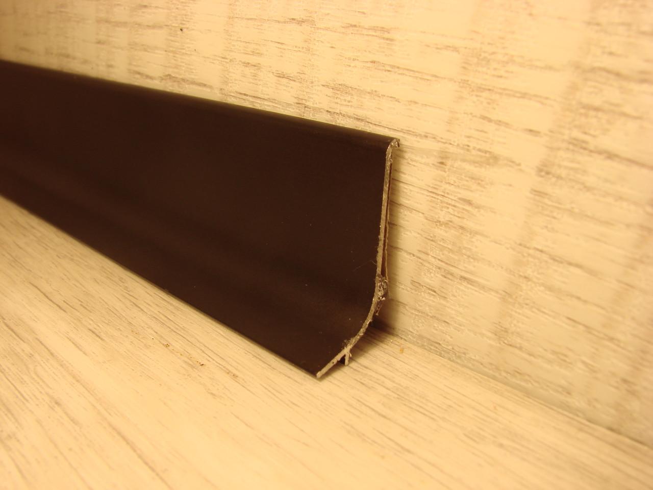 Плинтус алюминиевый напольный Effector Multi Effect Q64, Бронза 16,8*50*2700мм