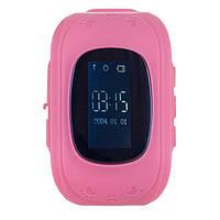 Смарт часы Ergo Kid`s K010 з GPS трекером Pink