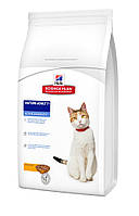 Hills Science Plan- 10 кг корм для кошек старше 7 лет с курицей