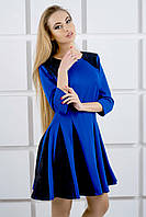 "Платье ""Хэлли"" электрик р. 44,46, фото 1"