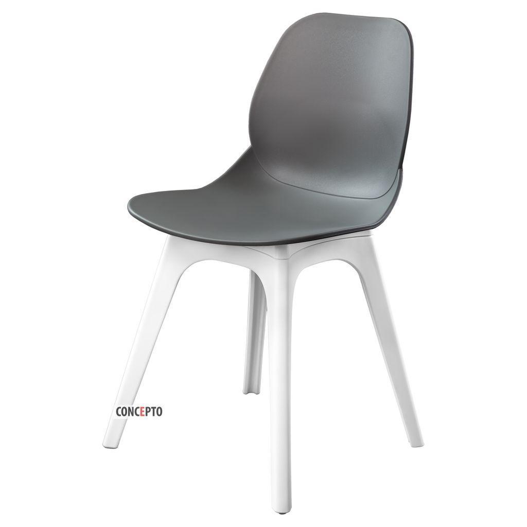 Apple (Эпл) Concepto cтул пластиковый серый