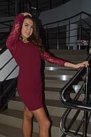 Платье с паетками Италия