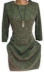 Платье женское 369 с украшением (деми)