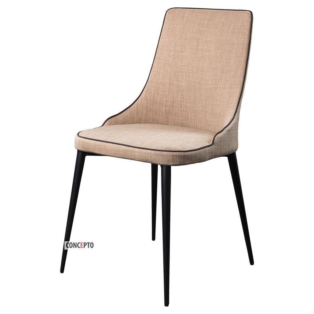 Elegance (Элеганс) Concepto стул текстиль пепельно-бежевый