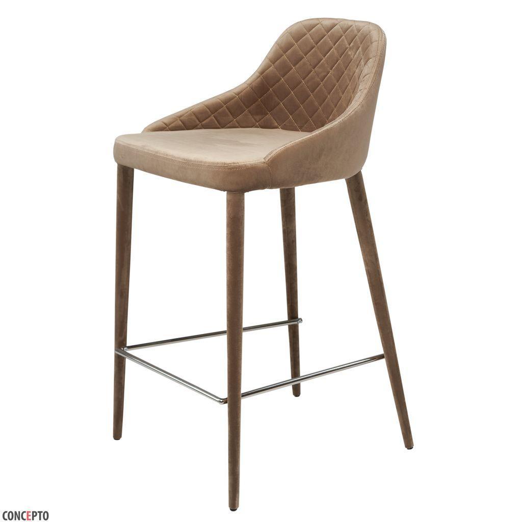 Elizabeth (Элизабет) Concepto полубарный стул велюр бежевый