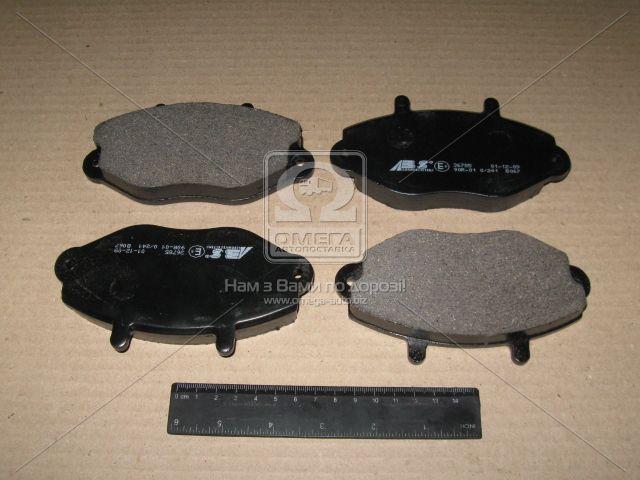 Колодка тормозная FORD TOURNEO/TRANSIT передн. (производство ABS) (арт. 36785), ADHZX