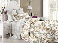 Комплект постельного белья евро ранфорс 100% хлопок. Постільна білизна. (арт.8745)