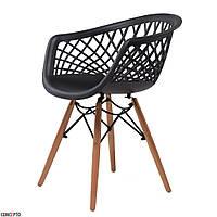 Lace (Лэйс) Concepto кресло пластиковое чёрное, фото 1
