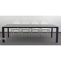 Gloss Grey (Глос Грэй) Concepto стол раскладной серый 160-260 см, фото 1