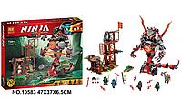 """Конструктор Ninjago,""""Железные удары судьбы, 734 деталей.Конструктор для мальчиков ниндзяго."""
