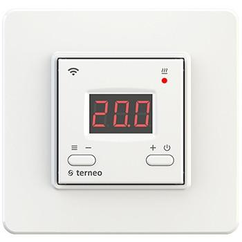 Terneo ax Wi-Fi терморегулятор - программатор недельный электронный врезной для теплого пола и обогревателей