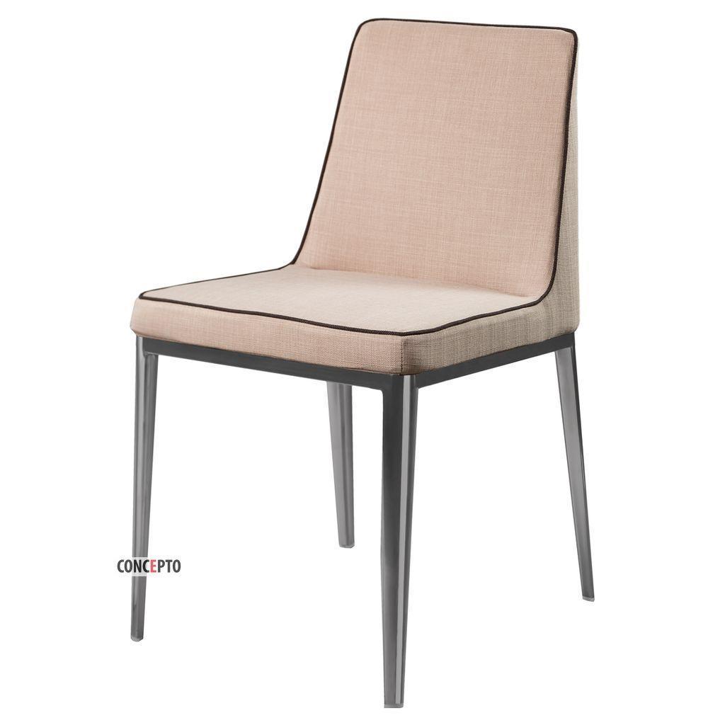 Gentleman Chrome (Джентльмен Хром) Concepto стул мягкий тёплый бежевый