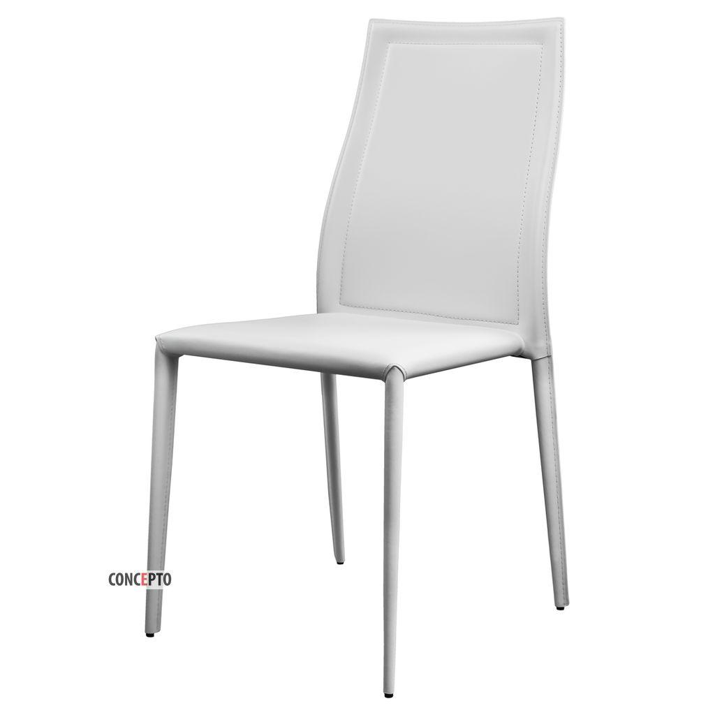 Nicety (Найсити) Concepto стул кожаный белый