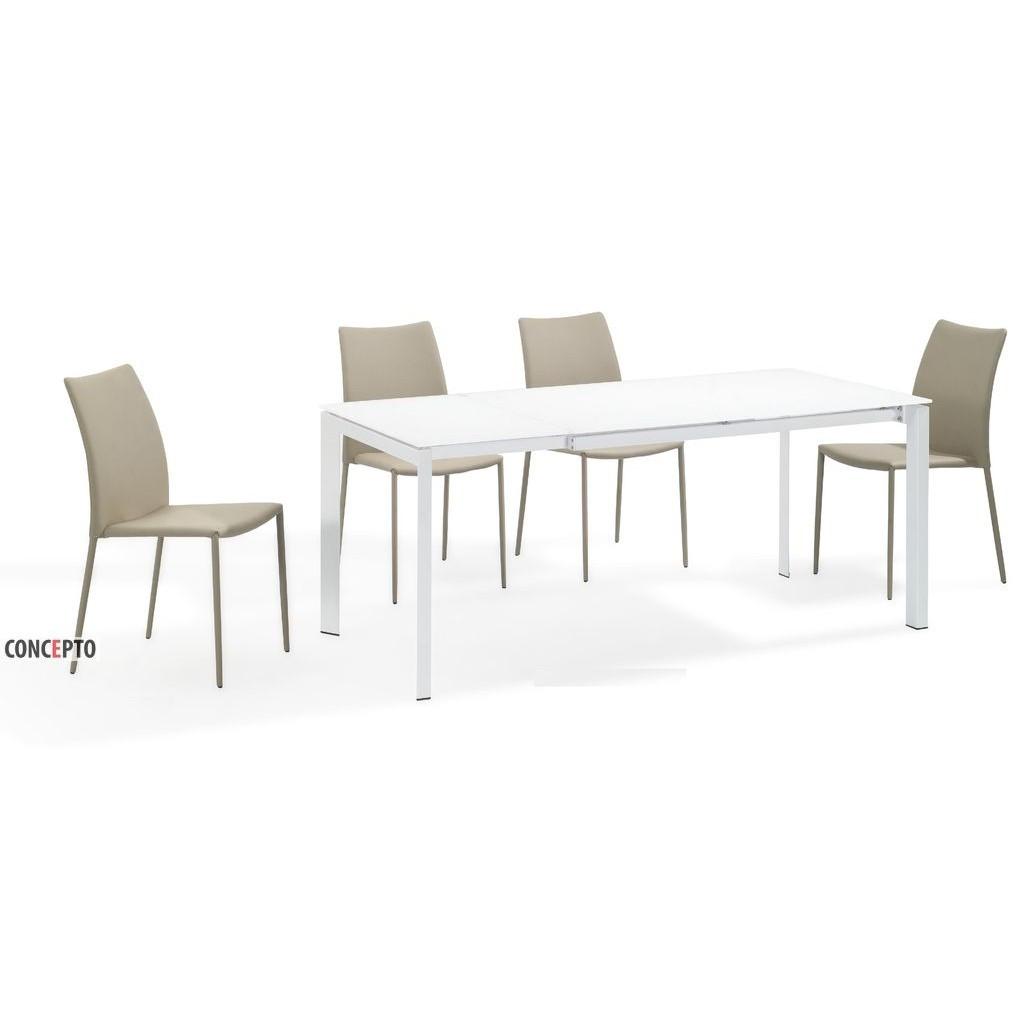 Matt White (Мэт Уайт) Concepto стол раскладной белый 130-180 см